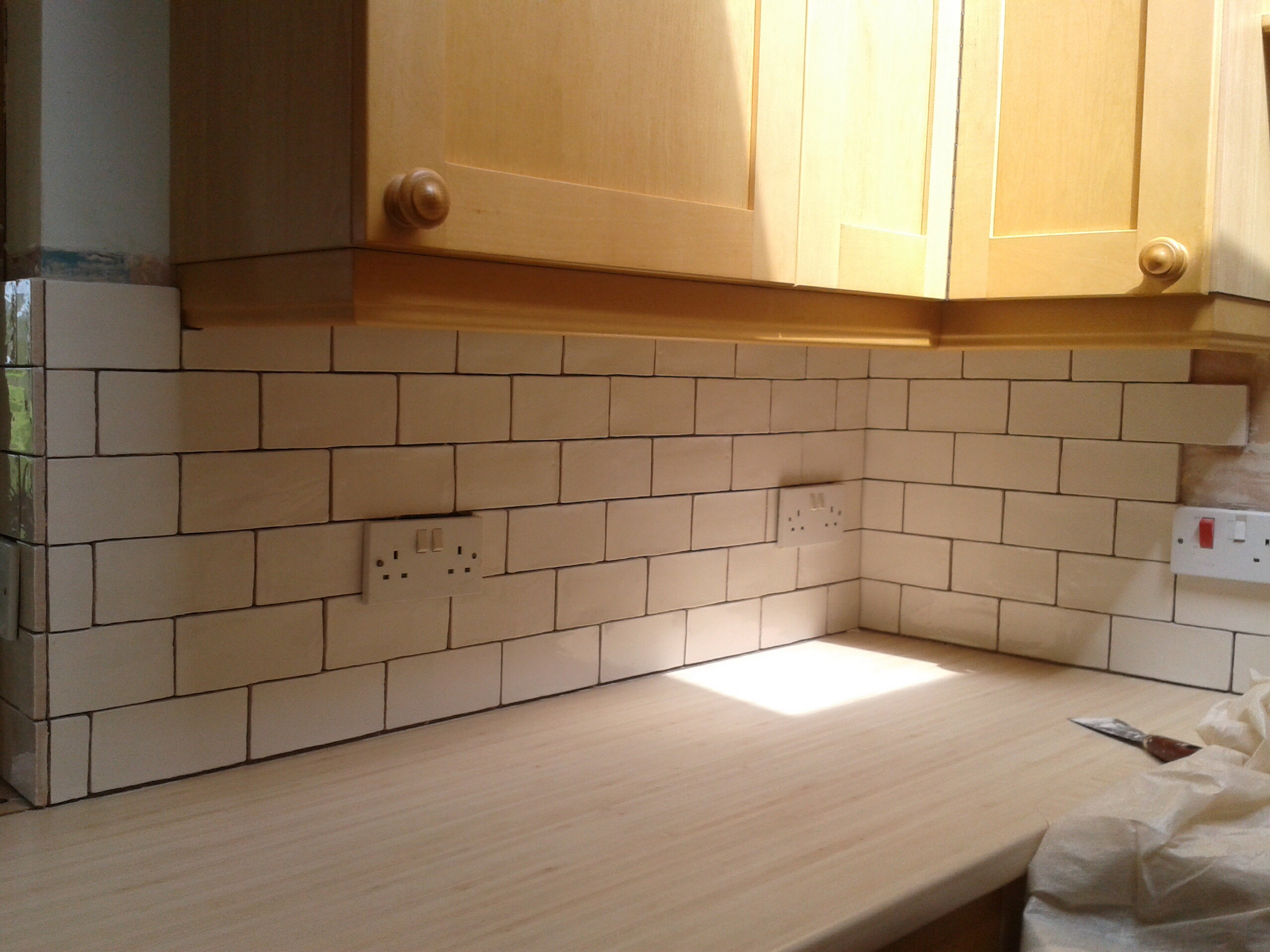 Kitchen Counter Tile Grout